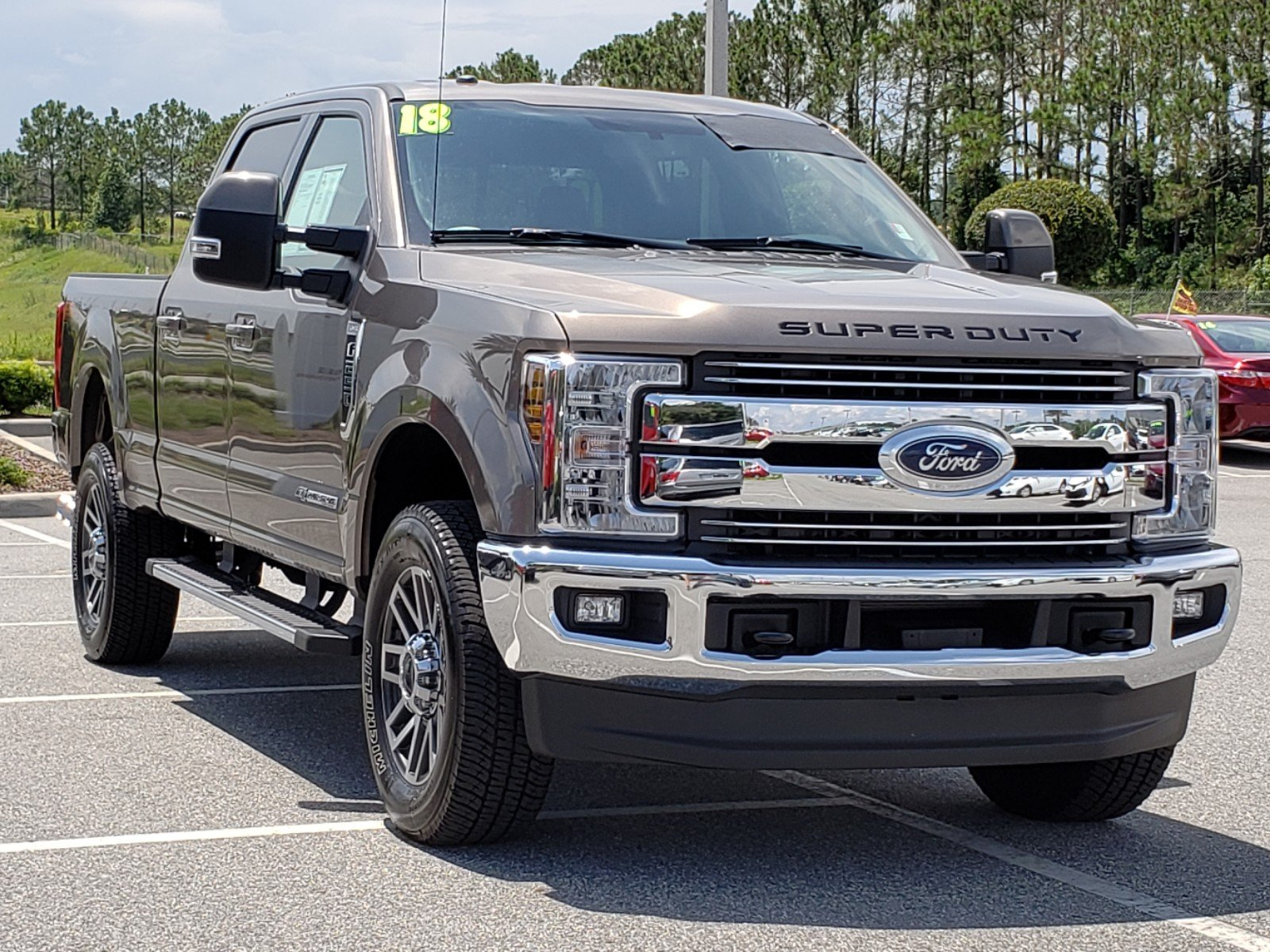 2018 Ford Super Duty >> Pre Owned 2018 Ford Super Duty F 250 Srw Lariat With Navigation