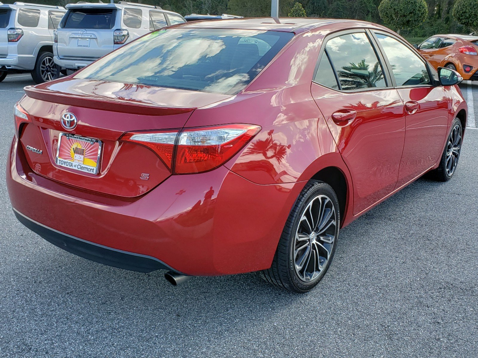 Pre Owned 2015 Toyota Corolla S Plus 4dr Car in Clermont A
