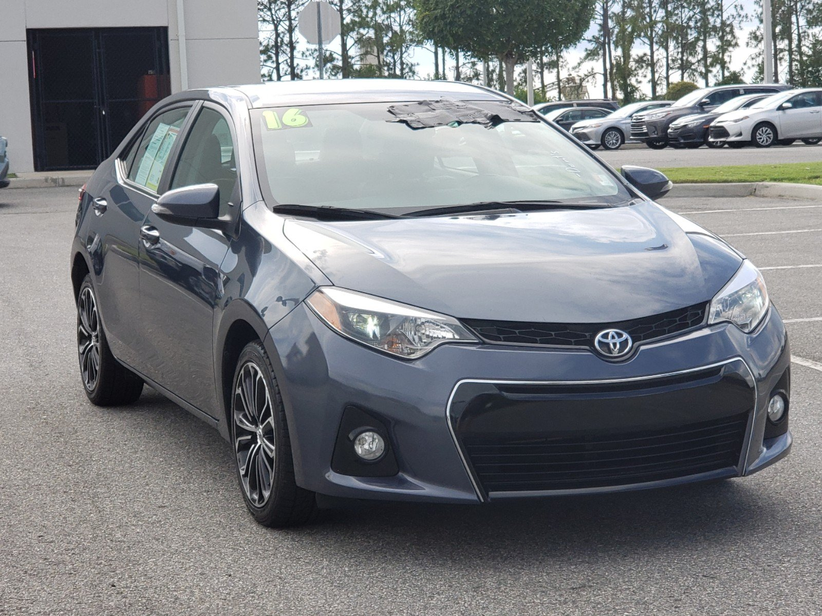 Toyota Corolla S Plus >> Pre Owned 2016 Toyota Corolla S Plus 4dr Car In Clermont 0180076a