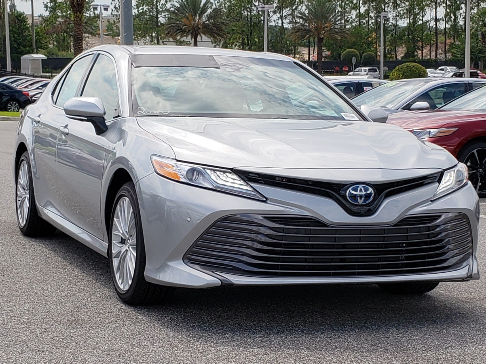 New 2018 Toyota Camry Hybrid Xle
