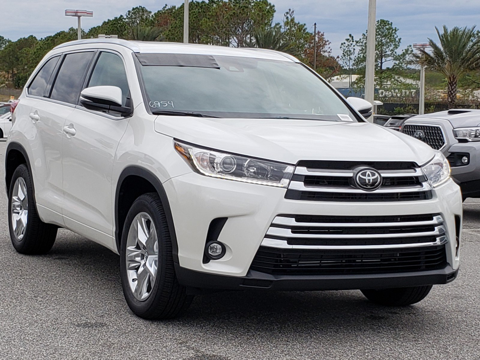 Toyota Highlander Limited >> New 2019 Toyota Highlander Limited Fwd Sport Utility