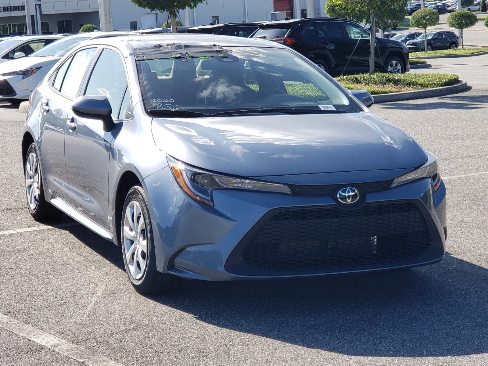 New 2020 Toyota Corolla Le 4dr Car In Clermont 0180060 Toyota Of