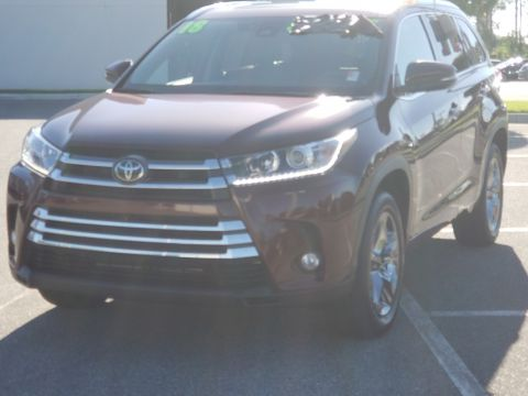 Certified Pre-Owned 2018 Toyota Highlander LIMITED PLATINU